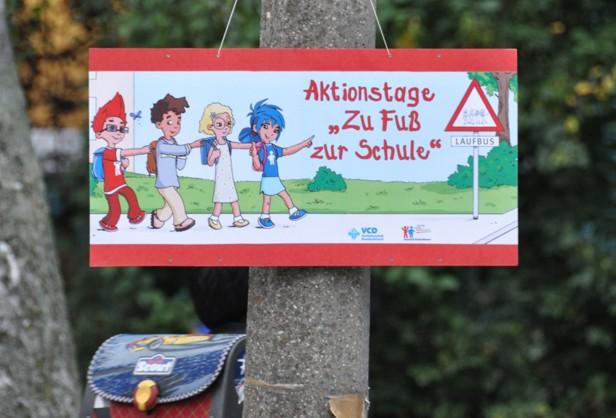 """Aktionstage """"Zu Fuß zur Schule"""""""